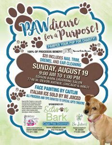 Pawdicure for a Purpose